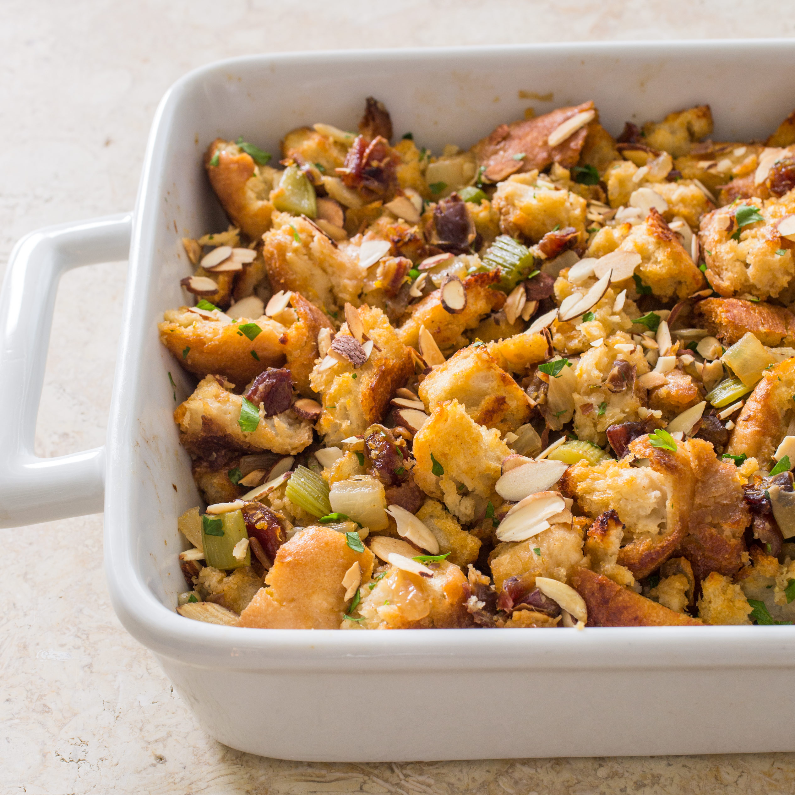 Rustic Bread Stuffing