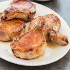 Pan-Seared, Oven-Roasted Thick-Cut Pork Chops