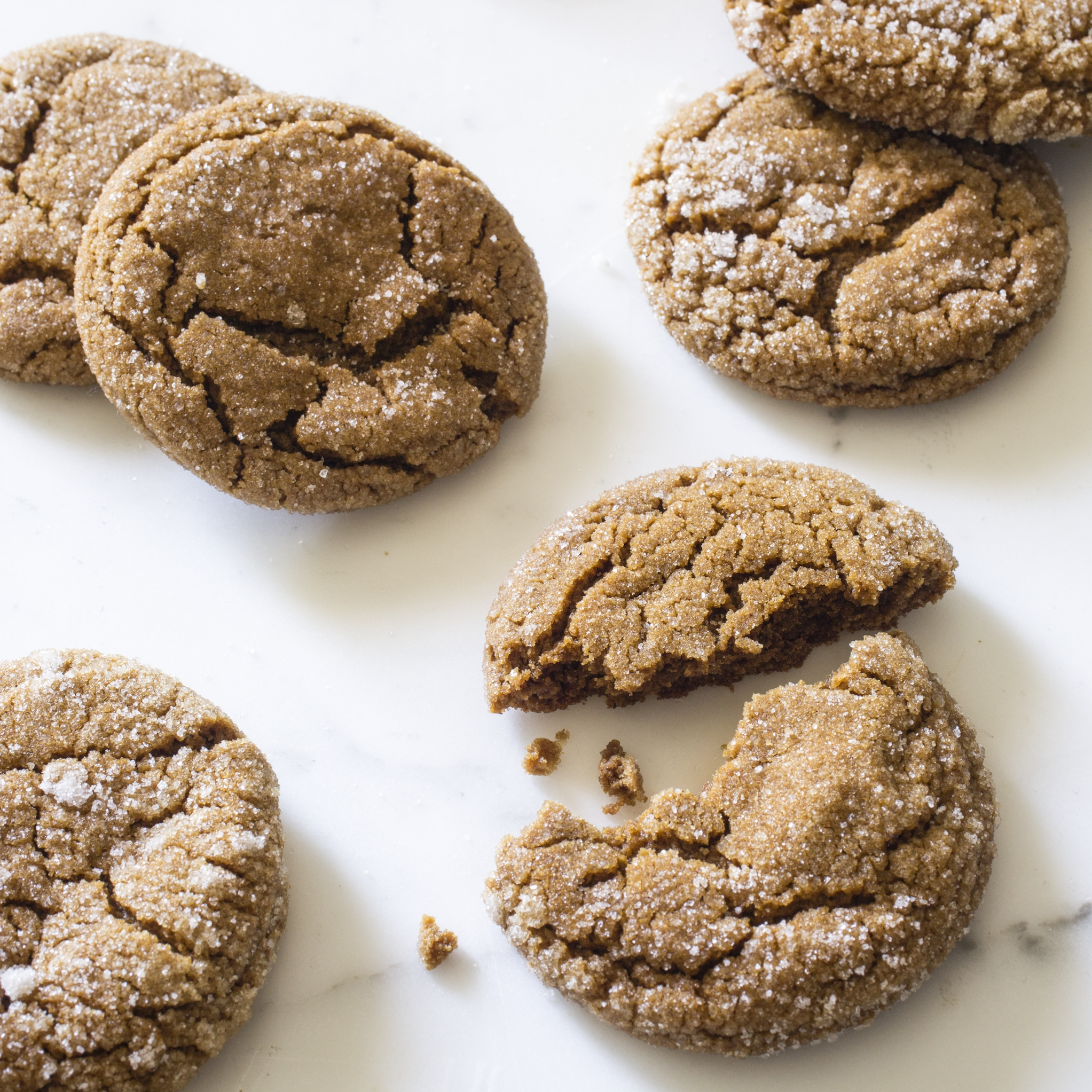 Soft and Chewy Molasses Spice Cookies Americas Test Kitchen