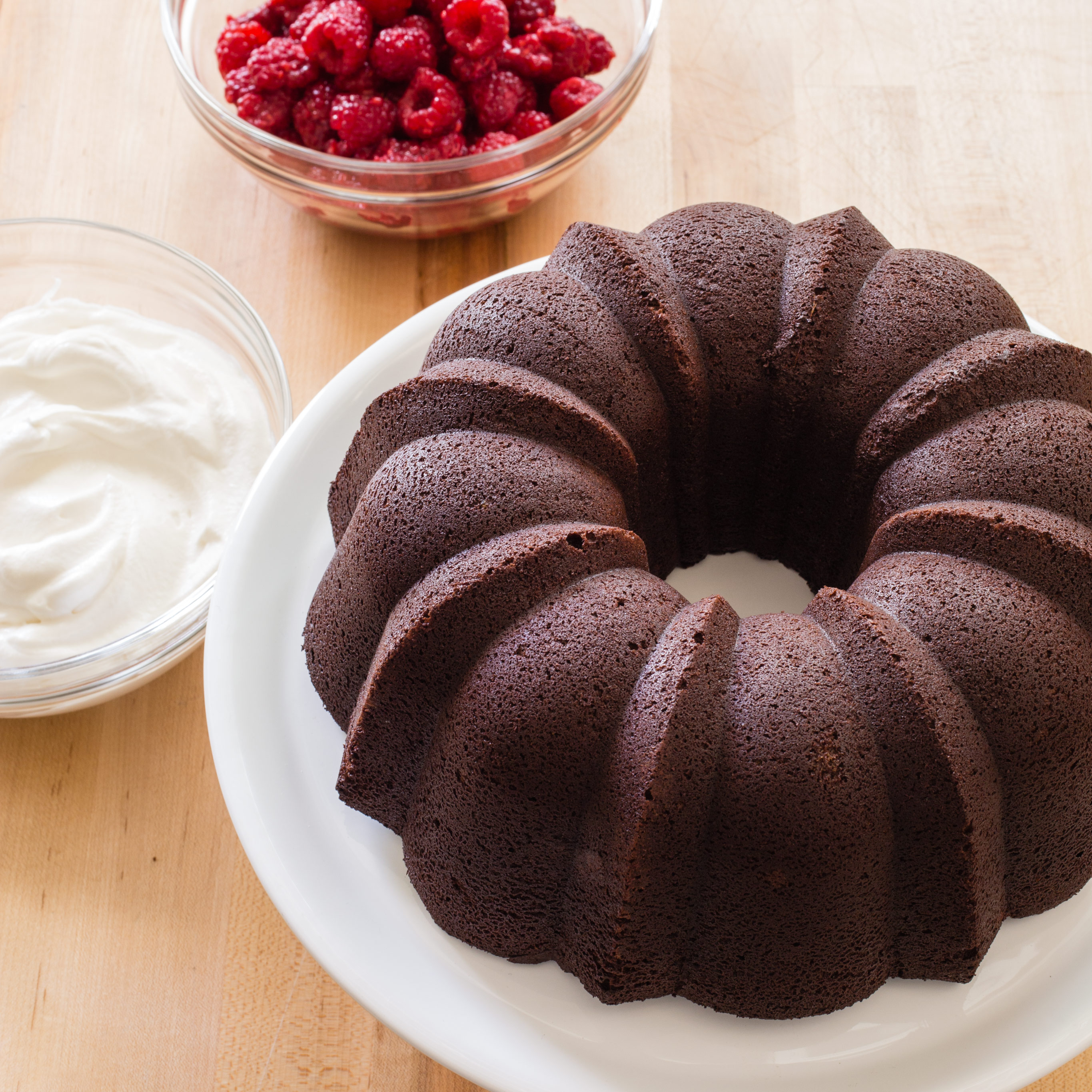 Chocolate Sour Cream Bundt Cake Recipe America S Test Kitchen