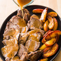 Cider-Braised Pork Roast