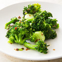 Broccoli with Anchovy-Garlic Dressing