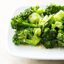 Broccoli with Sesame-Miso Dressing
