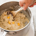 "Peaches and ""Cream"" Oatmeal"
