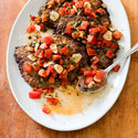 Pan-Fried Minute Steaks with Caper-Tomato Sauce