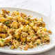 Skillet-Roasted Cauliflower with Curry, Raisins, and Almonds for Two