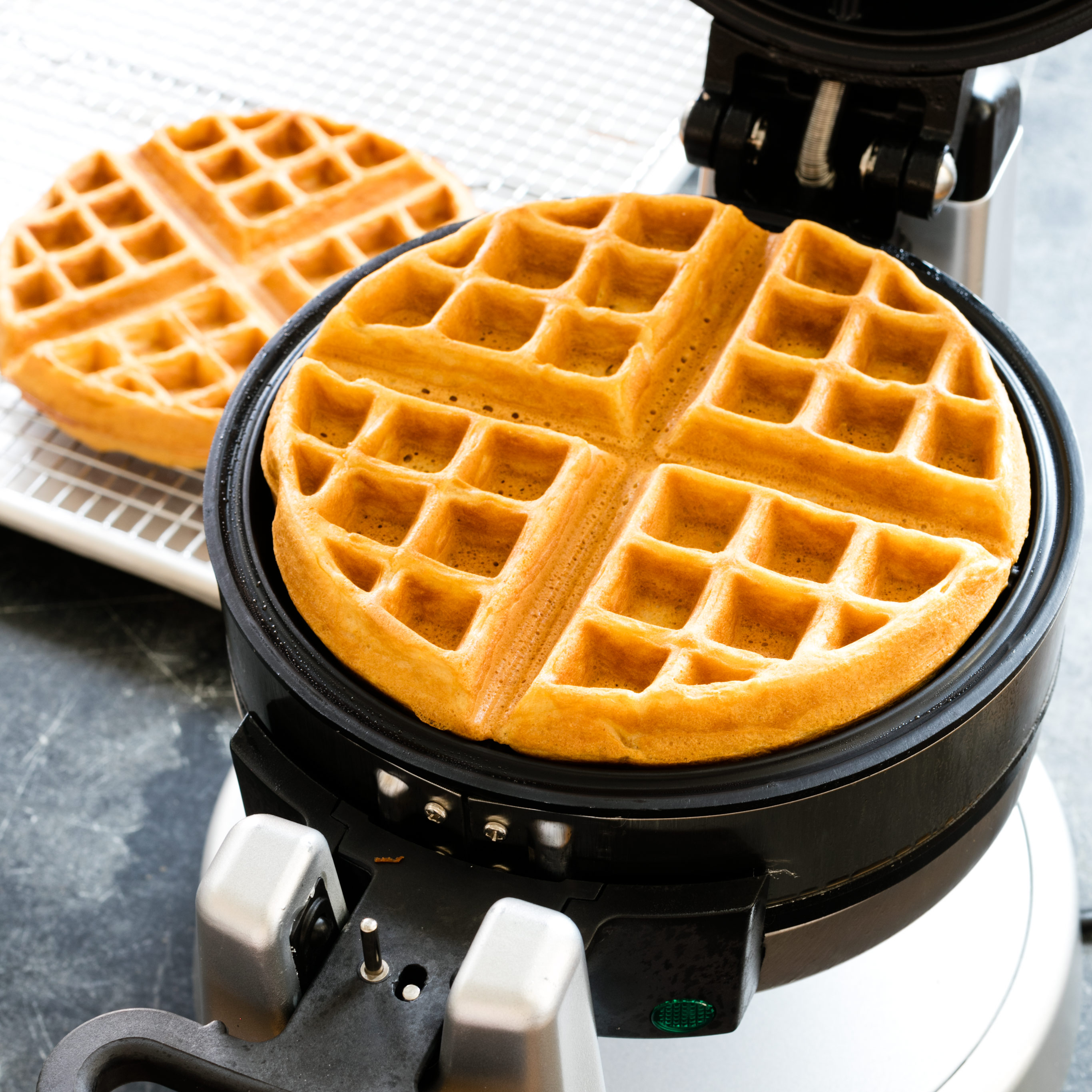 I found the waffle iron cleaning method a very big help, will be sure to use it Thanks, Kathy Hogan.