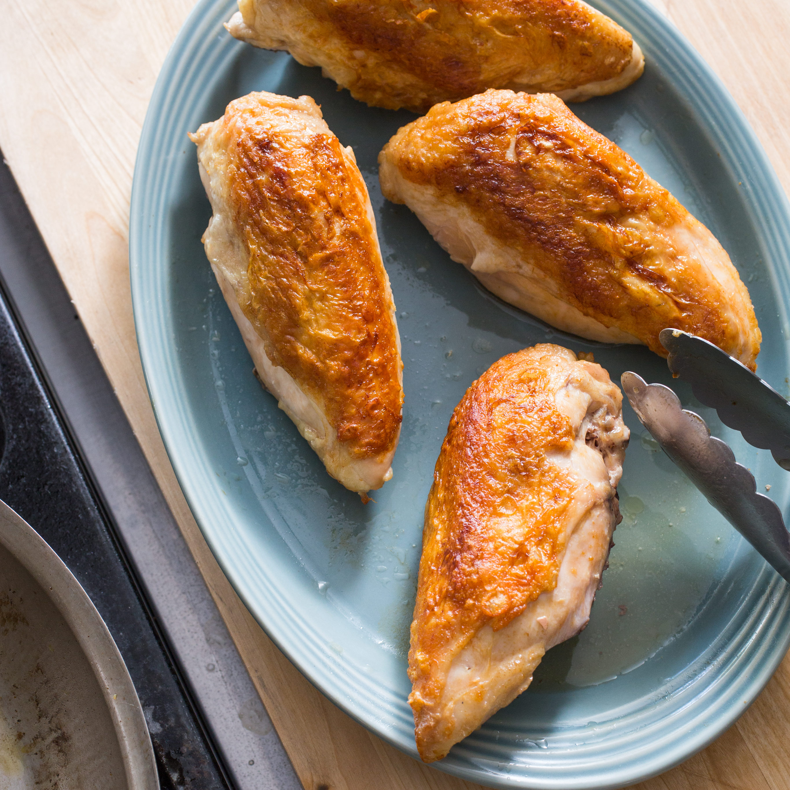 Roasted Bone-In Chicken Breasts | America's Test Kitchen