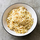 Garlicky Spaghetti with Artichokes and Hazelnuts for Two