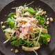 Watercress Salad with Chicken, Fennel, and Pickled Shallots