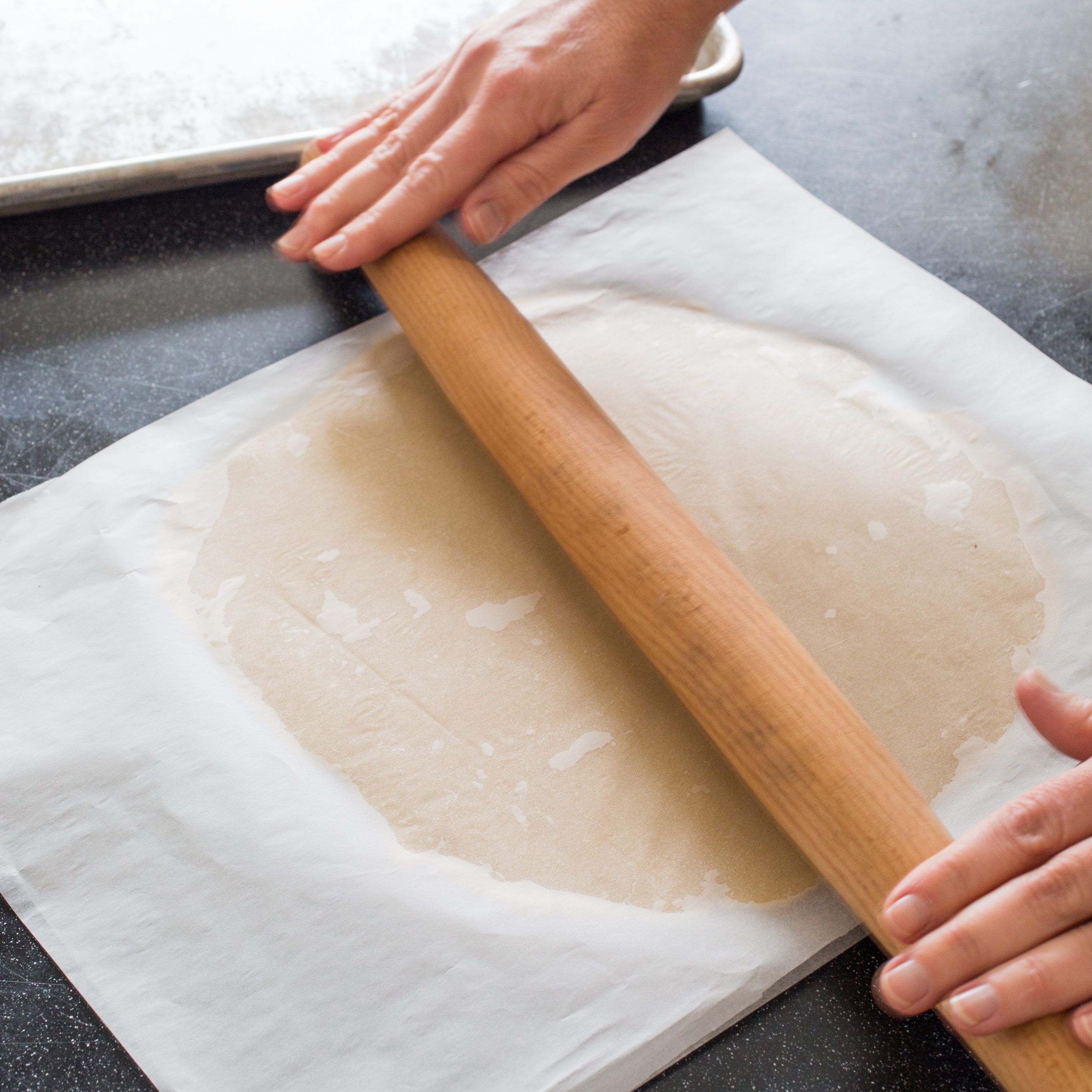 How to roll out the dough