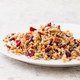 Warm Farro with Cranberries, Pecans, and Herbs