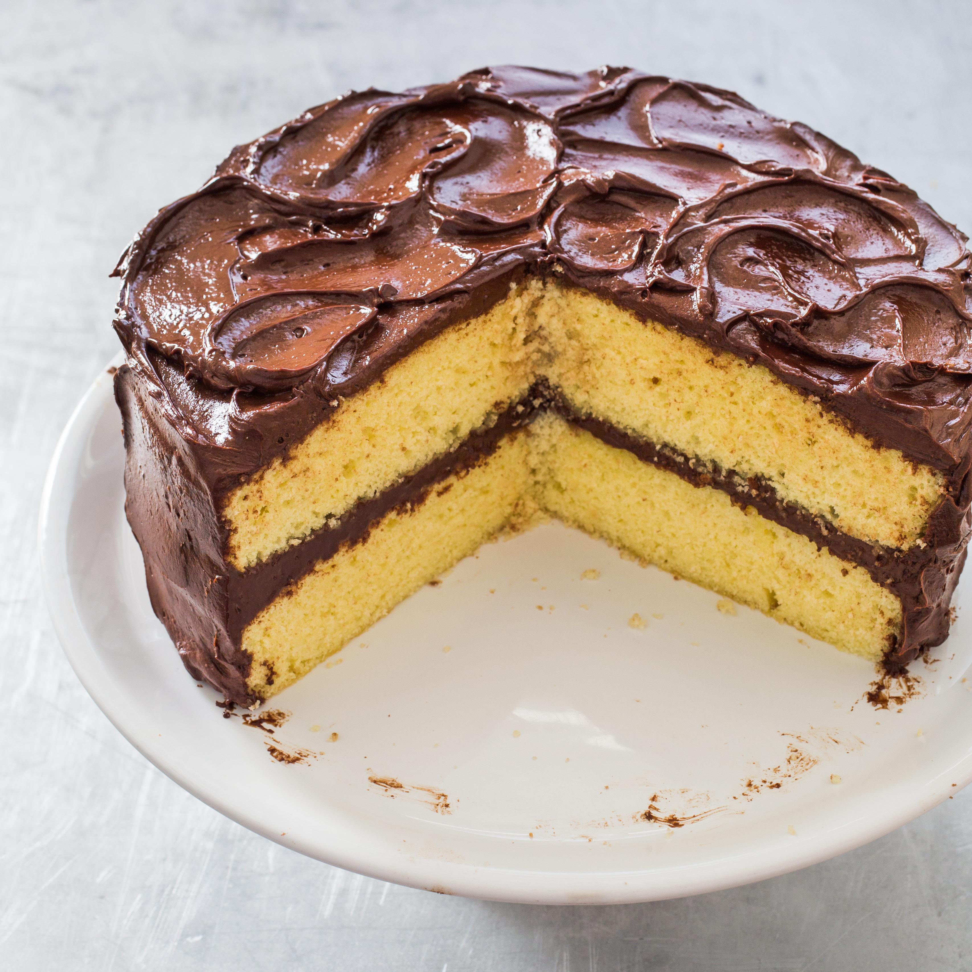 Recipe fluffy yellow layer cake