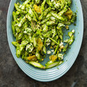 Asparagus Salad with Oranges, Feta, and Hazelnuts