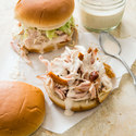 Tennessee Pulled Turkey Sandwiches