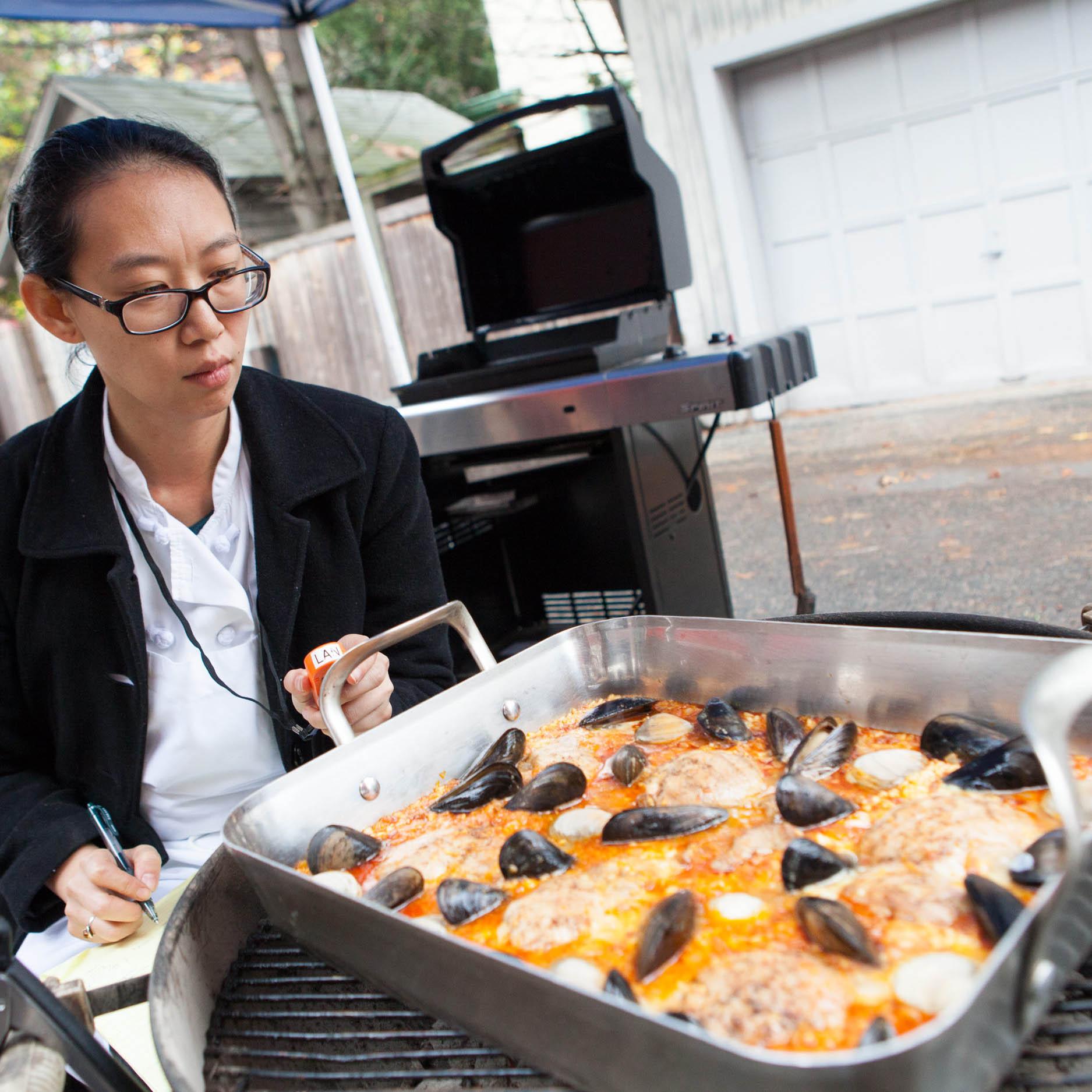 Grilled Paella America S Test Kitchen