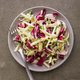 Kohlrabi, Radicchio, and Apple Slaw