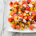 Watermelon-Tomato Salad