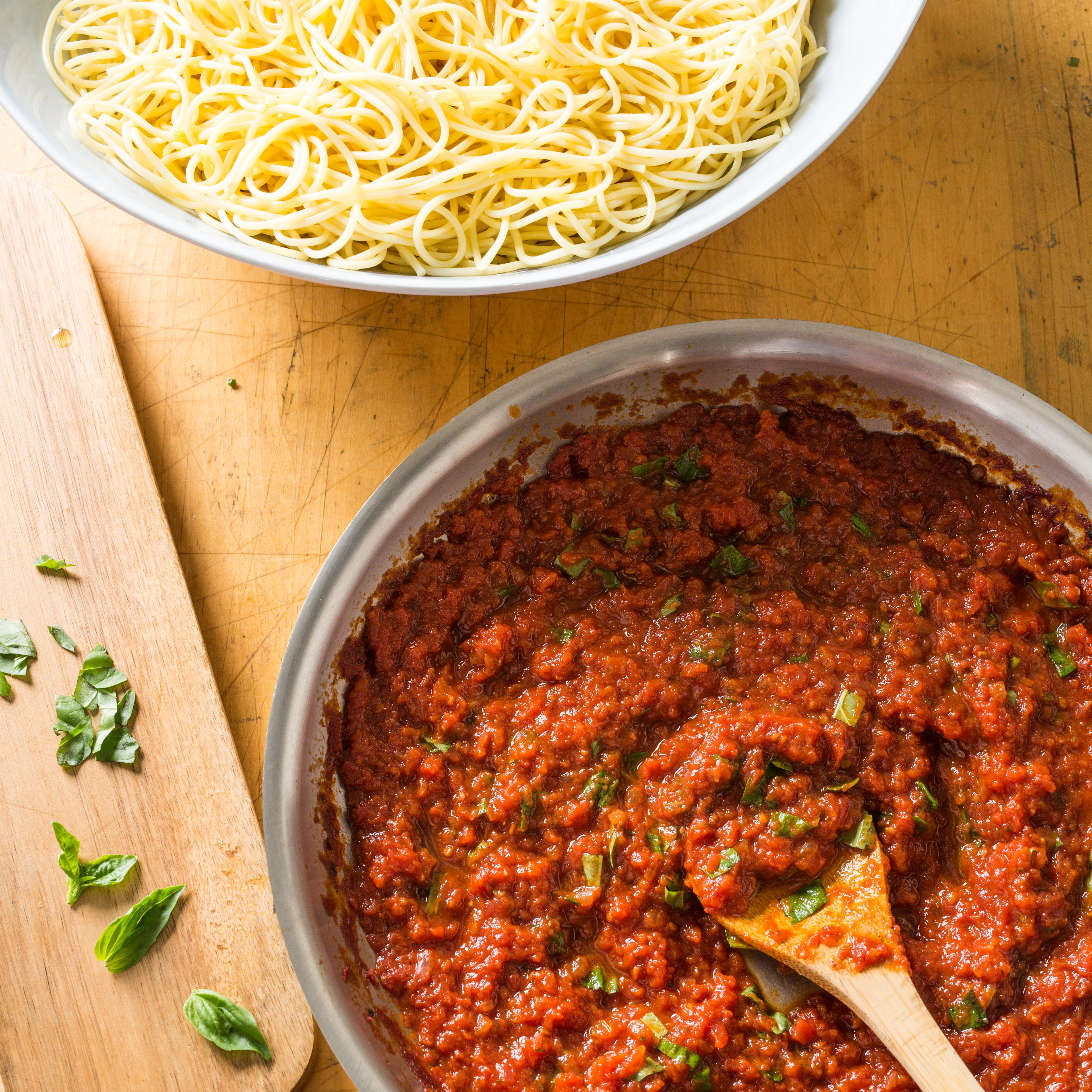 how to make italian pasta sauce from scratch