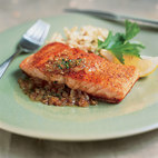 Simple Pan-Seared Salmon