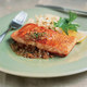 Spring Pan-Seared Salmon Menu