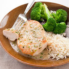 Sauteed Chicken Cutlets with Shallot & White Wine Sauce