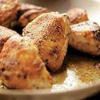 Pan-Roasted Chicken with Shallot and Vermouth Sauce