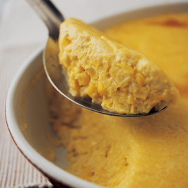 Detail creamy corn pudding article