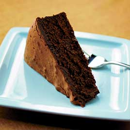 Bittersweet Chocolate Mousse Cake Recipe - America's Test Kitchen