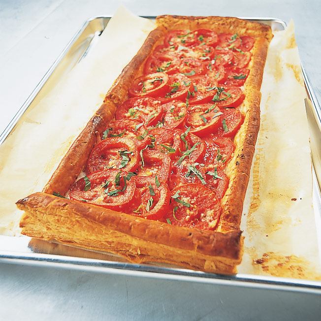 America S Test Kitchen Tomato And Mozzarella Tart