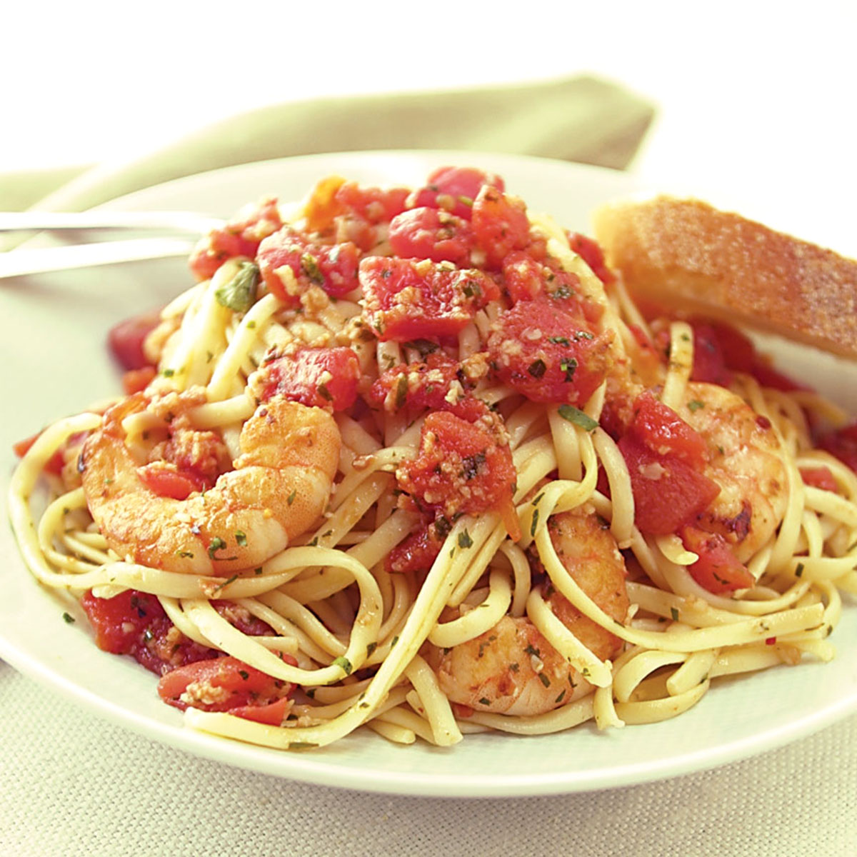 Shrimp Fra Diavolo with Linguine Recipe - America's Test Kitchen