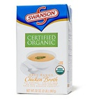 Swanson Certified Organic Free Range Chicken Broth
