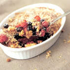 Fresh Berry Gratin