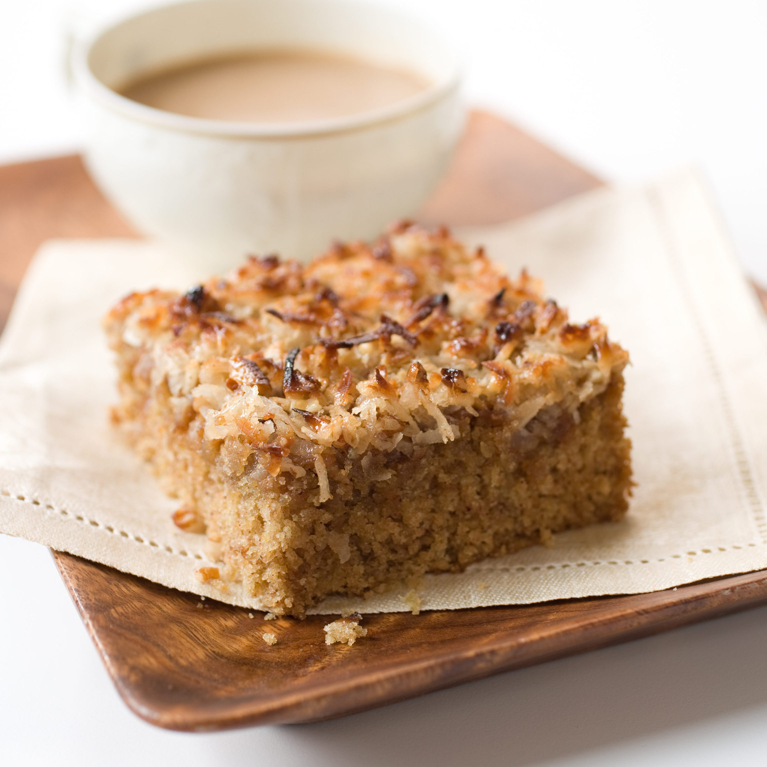 Oatmeal Cake with Broiled Icing | America's Test Kitchen