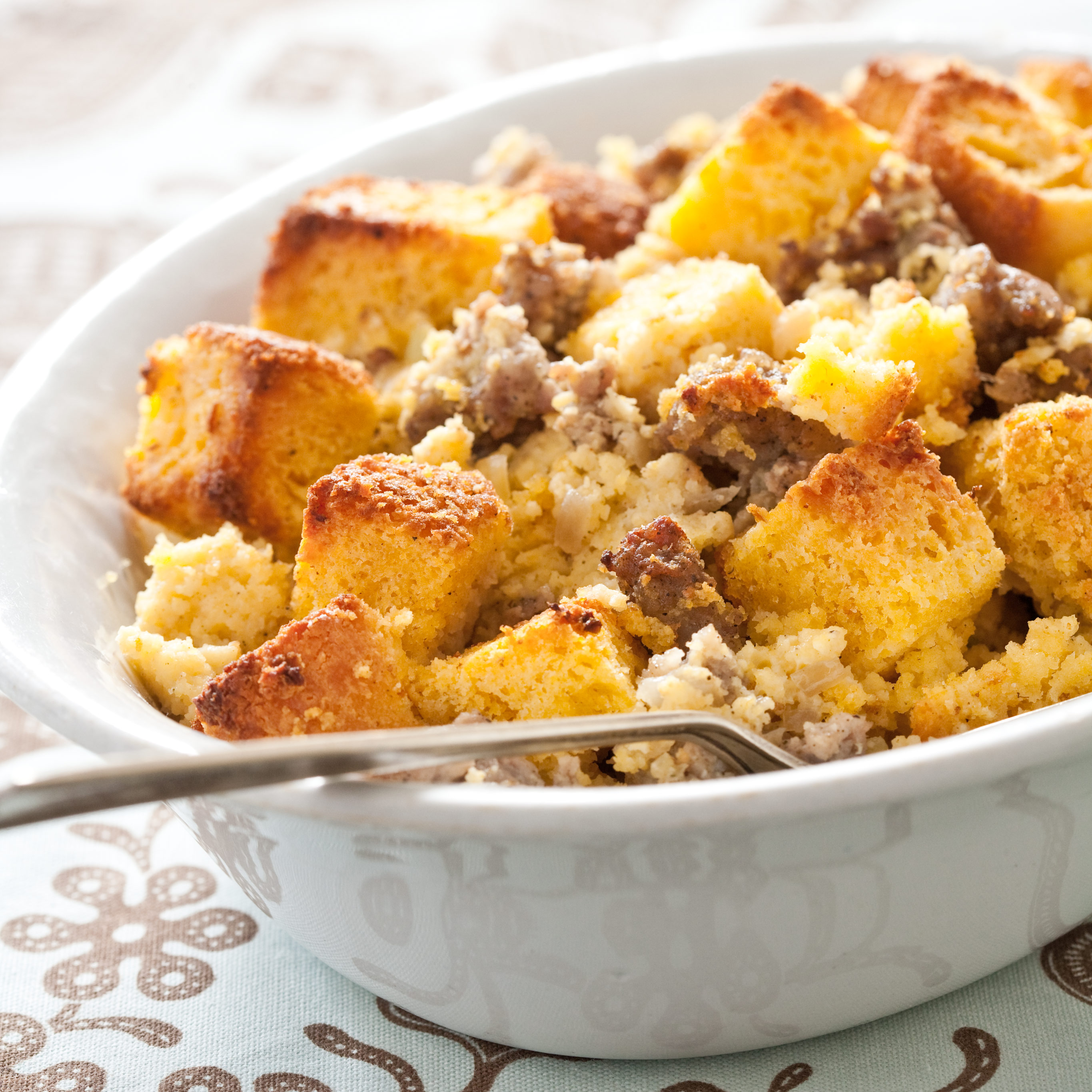 Cornbread and Sausage Stuffing Recipe - Cook's Illustrated