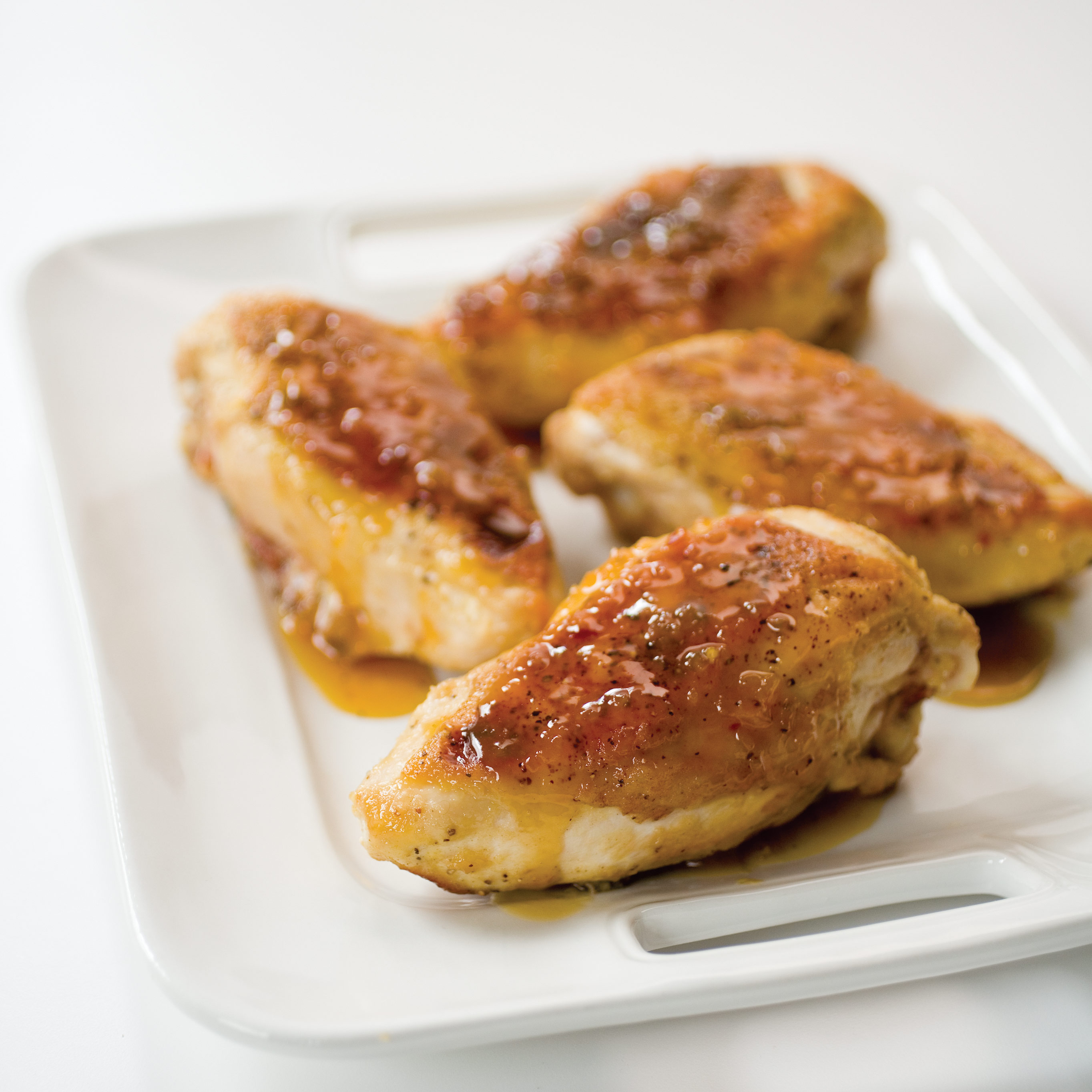 Orange-Honey Glazed Chicken Breasts Recipe - Cook's Illustrated