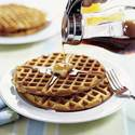 Light and Crispy Belgian Waffles