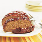 Meat Loaf with Brown Sugar-Ketchup Glaze - Loaf Pan Variation
