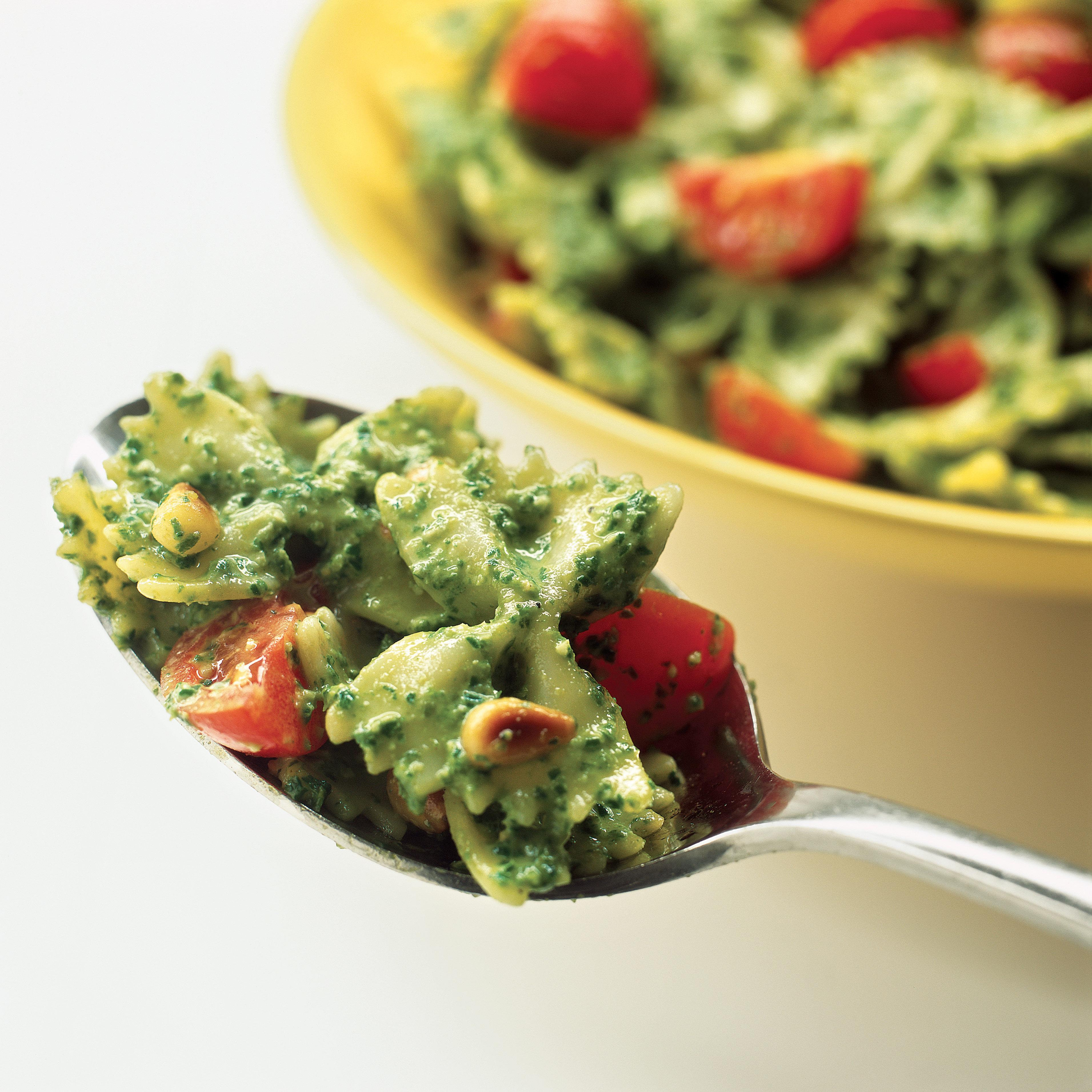 Pasta Salad with Pesto Recipe - America's Test Kitchen