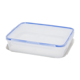 Plastic Nourishment Storage Containers Review - Cooku0027s Illustrated  sc 1 st  for cupcakes. & Flat Plastic Storage Containers. Sterilite 19638606 Large Clip Box ... Aboutintivar.Com