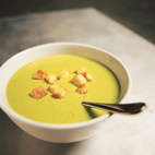 Hearty Ham and Split Pea Soup with Potatoes