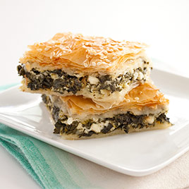 Greek Spinach and Feta Pie (Spanakopita) Recipe - Cook's Illustrated