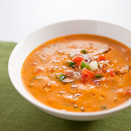Creamy Gazpacho Andaluz Recipe - America's Test Kitchen