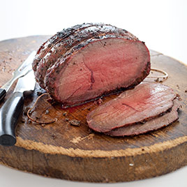 Inexpensive Gas-Grill-Roasted Beef with Garlic and Rosemary Recipe ...