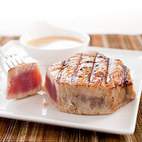 Charcoal-Grilled Tuna Steaks with Provençal Vinaigrette