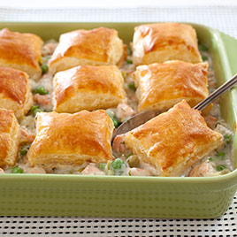 Salmon and leek pot pie recipe cook 39 s illustrated for Fish pot pie