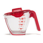 Zyliss Mix-n-Measure Measuring Cup Set with Lid (1, 2 & 4 Cup)