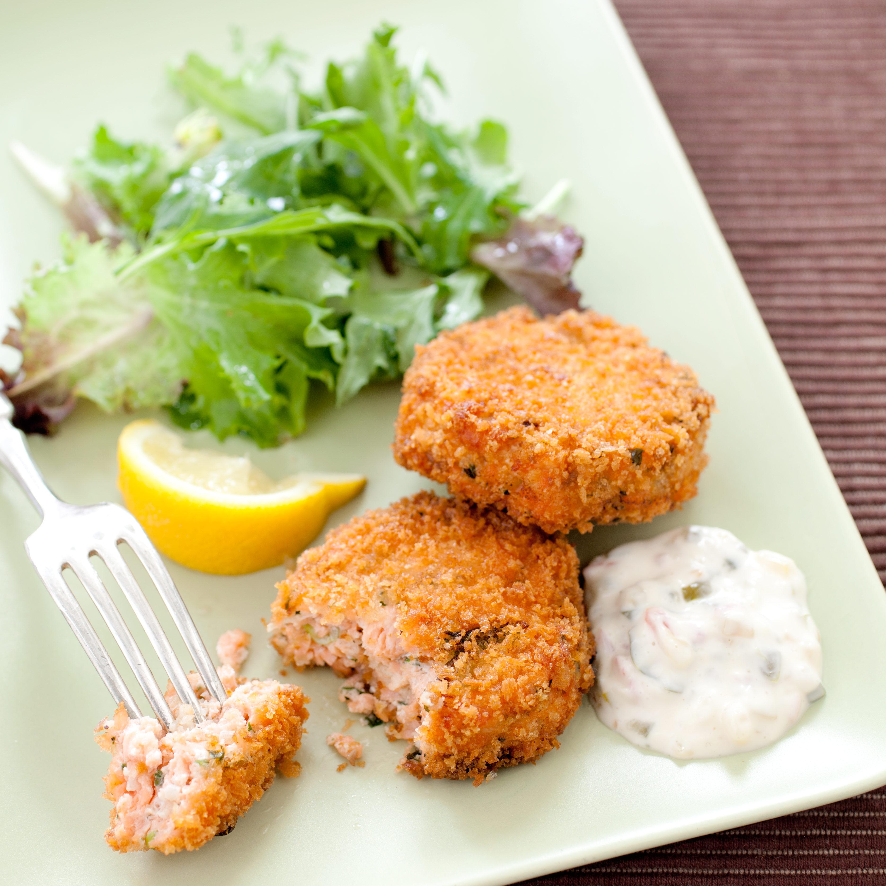 America S Test Kitchen Easy Salmon Cakes Recipe