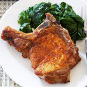 Herbed Pan-Fried Pork Chops