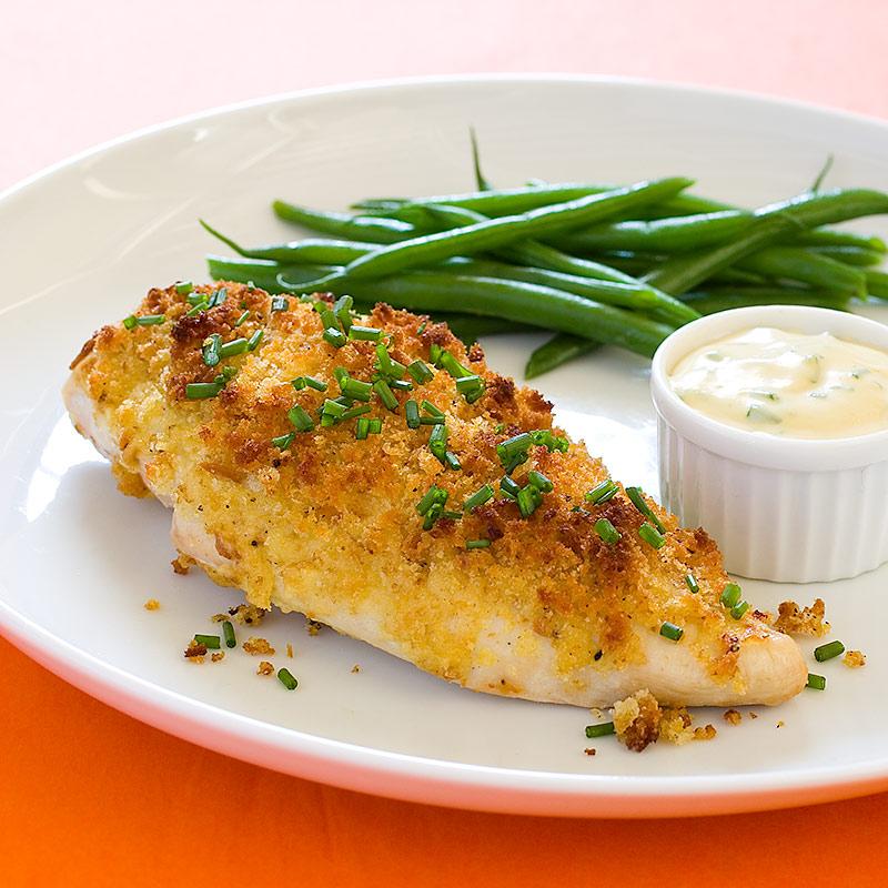 Crispy Dijon Chicken Breasts
